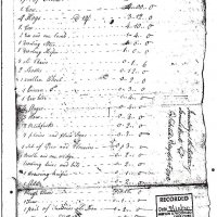Inventory of the Estate of Samuel Hartt of Smithtown.