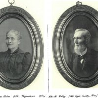 John William McCoy and Delia Maria Evans McCoy.