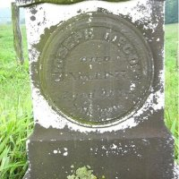 Marker of Joseph McCoy, Jr. died 1 Nov 1877 Tyler WV.