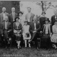 Reunion of Descendents Col. John Evans 1925