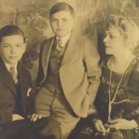 John and Rawley McCoy with Connie McCoy, 1920s