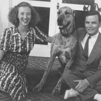 John Evans McCoy with Betty Carson McCoy 1940