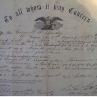 George HW Neander's Discharge from the Civil War