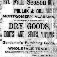 Advertisement for Pollak and Co.