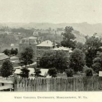 University of West Virginia, Morgantown, 1896.