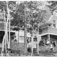 Birch Villa, Bryant Pond, Maine built by C. Mortimer Wiske.